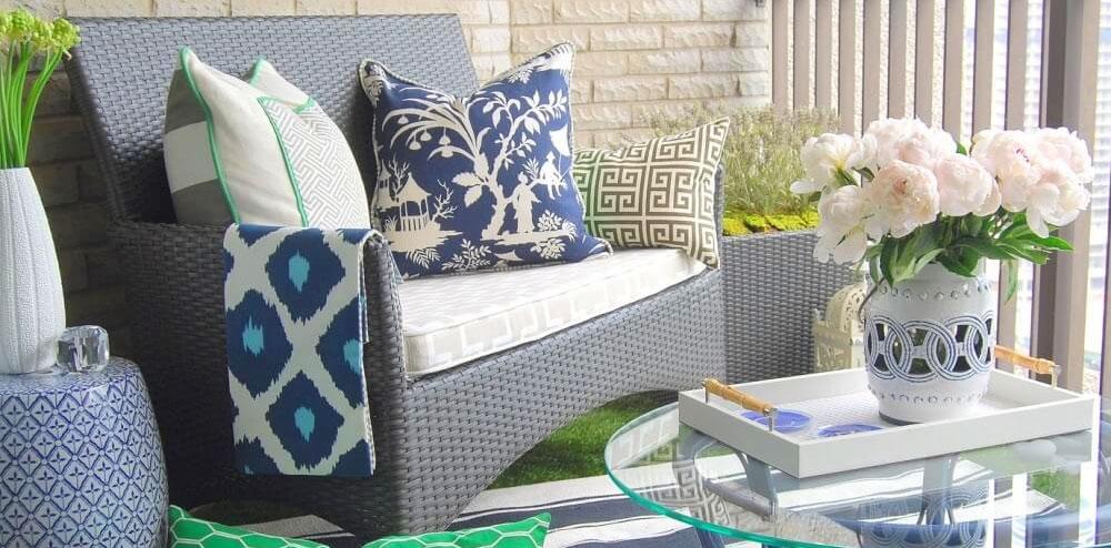 Loungemöbler balkong